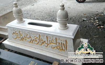 Kijing Makam Untuk Islam, Model Kijing Makam Marmer, Harga Kijing Kuburan Marmer
