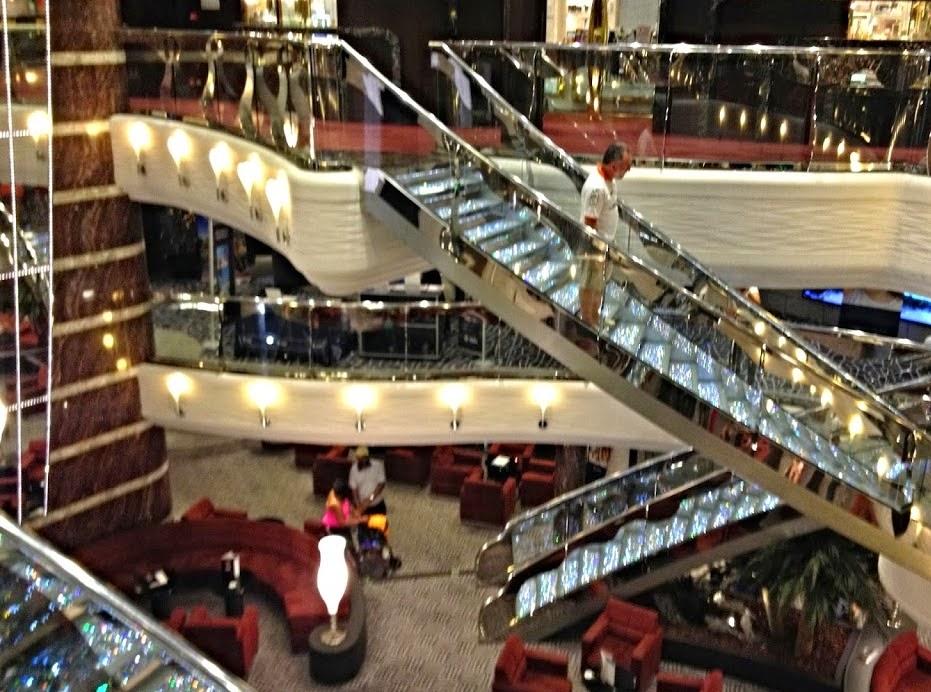 Deck principal - MSC Divina