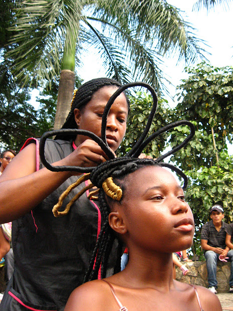 afro-colombian hair braiding messages