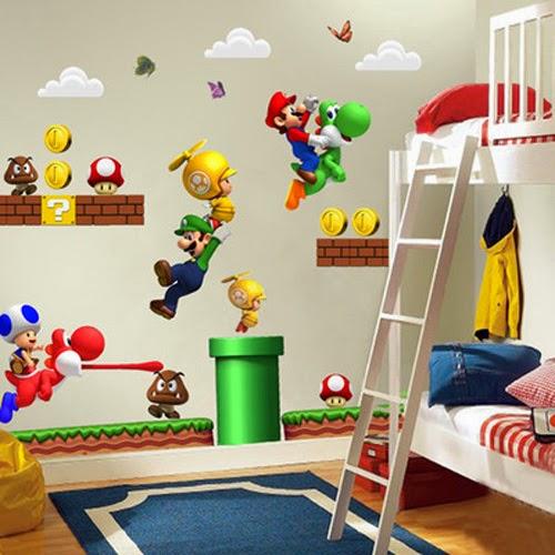 Cuarto temático Mario bros