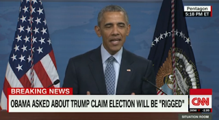 President Obama: Donald Trump's Warning On Elections Is 'Ridiculous'