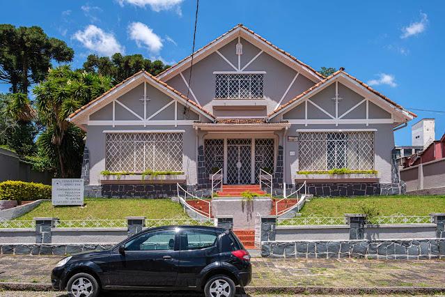 Casa na Rua David Carneiro - fachada