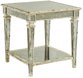 Antique Mirror Table
