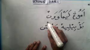 Mengenal Asal Arab Pegon Serta Kaidah  Metode Cara Menulis Arab Pegon Untuk Pemula Dan Penemu Huruf Pegon