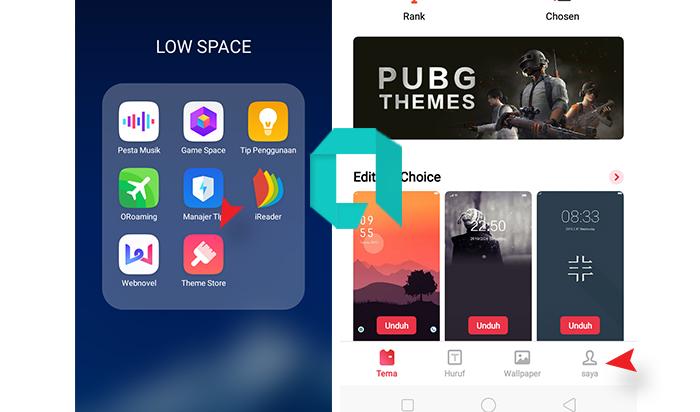 Cara Update Theme Store OPPO, A1K, A3S, A5 2020 Terbaru