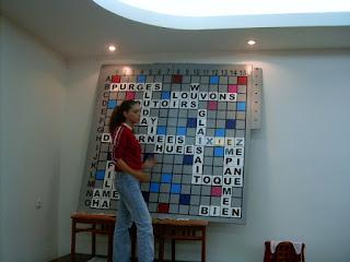 Festival International de Scrabble Francophone Roumanie Poiana Brasov 2004 - Sala, Partida 1 Perechi