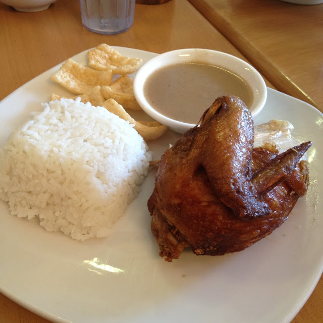 quarter chicken meal at Chix Savour Restaurant