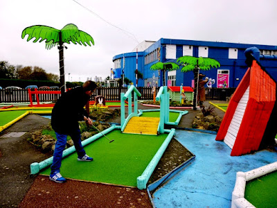 Crazy Golf at Pontins Camber Sanda Holiday Park