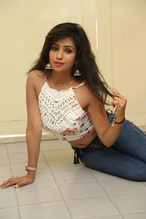 Deekshita Parvathi in a short crop top and Denim Jeans Spicy Pics Beautiful Actress Deekshita Parvathi January 2017 CelebxNext (178).JPG