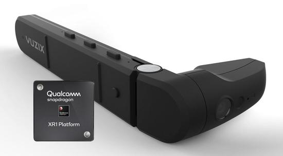 Vuzix launches the first smart glasses M400 with Qualcomm Snapdragon XR1