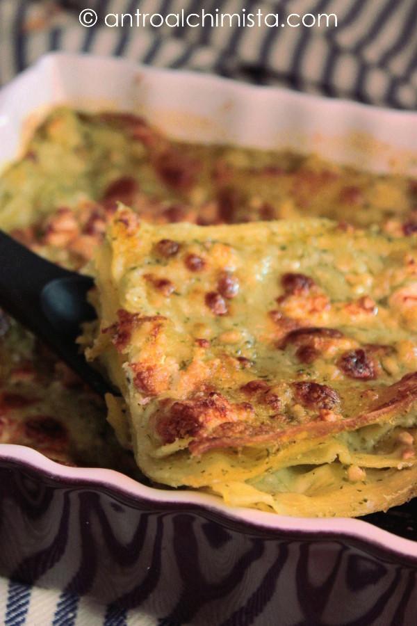Lasagne con Pesto di Menta