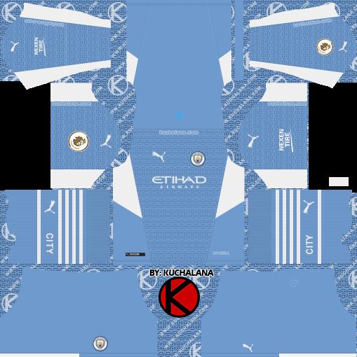 Manchester City 2021-22 Nike Kit - DLS2019
