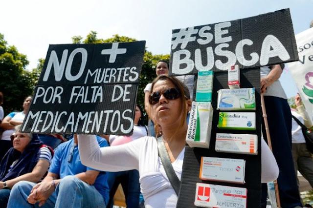Vuelven a negar la ayuda humanitaria y pacientes agotan sus inventarios de medicinas