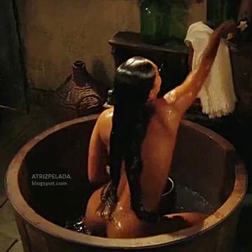 atriz juliana paes nua tomando banho