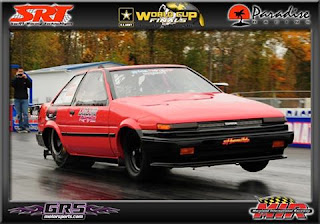 Toyota Corolla AE86 Japanese Drag Car Fastest