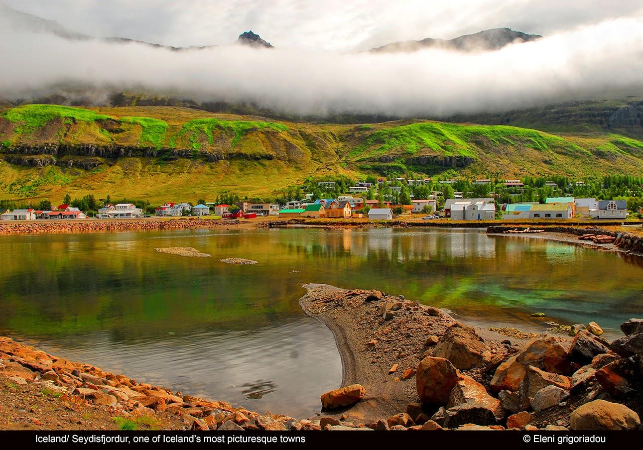 Eleni Grigoriadou : Seydisfjordur: the most charming ...