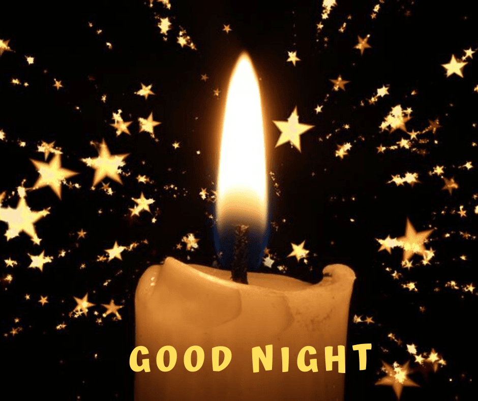 Good Night Candle Images