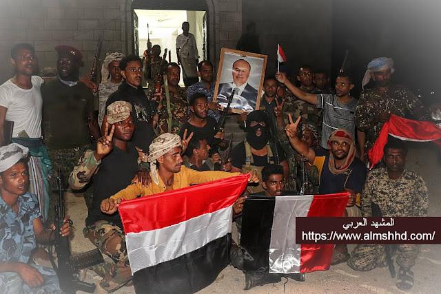 عاجل: قوات الجيش في سقطرى تلقن الانتقالي درساً قاسيا وسيطرة الشرعية على معسكر إماراتي واعلان حالة الطوارئ
