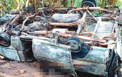 7 Passengers, Driver Killed As NSCDC Officials Shoot Bus Openly