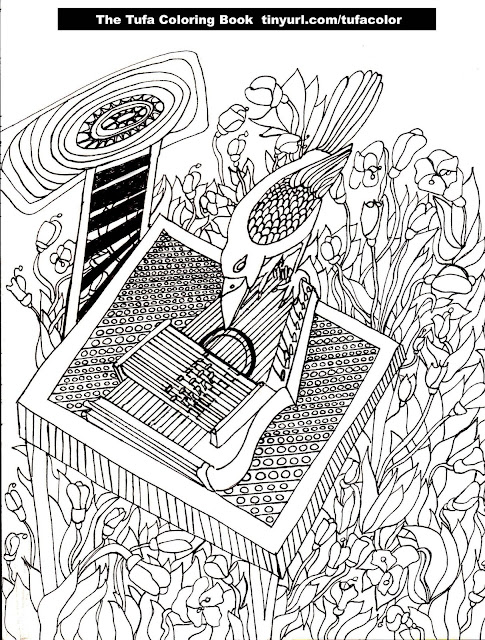 Free Coloring Page Autoharp