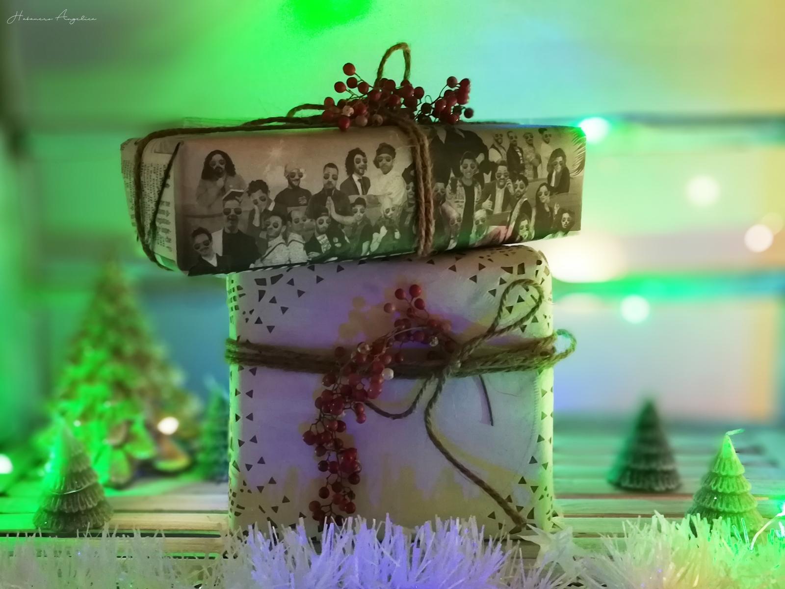pacchetti regalo per Natale