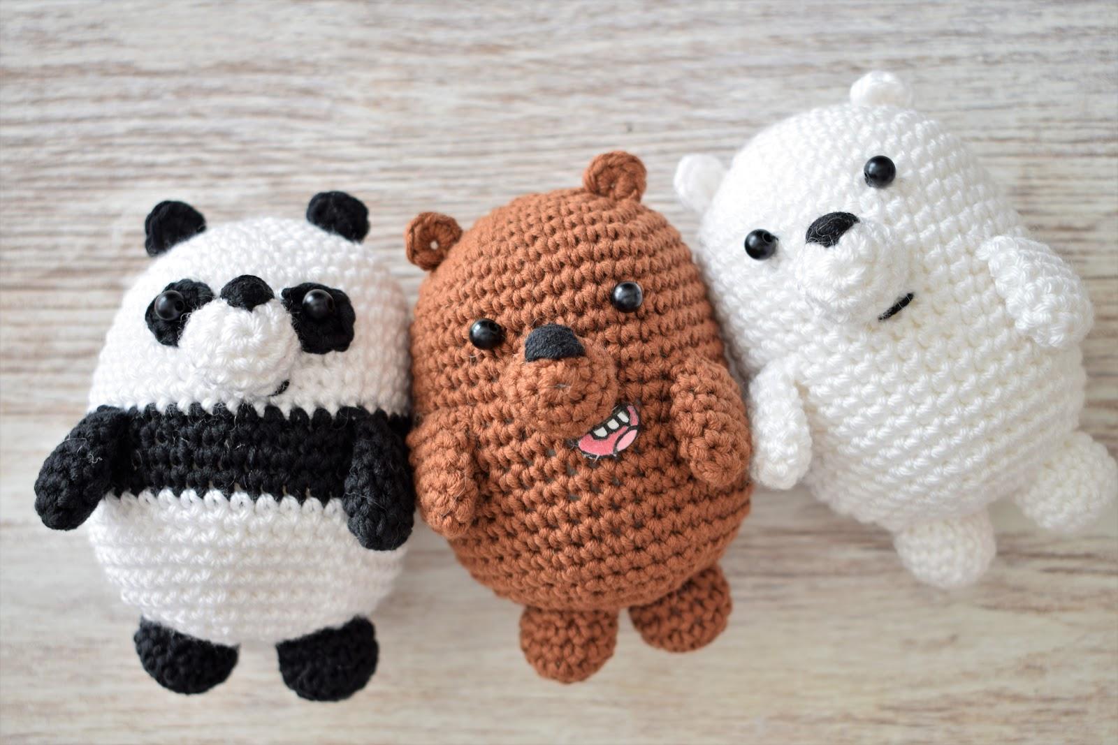 Patrón gratis amigurumi de oso panda - amigurumis y más | 1067x1600