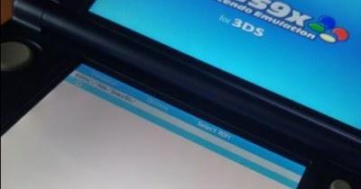 3DS - Snes9x v0 51 download disponível para 3DS - Novo 3DS - New 3DS