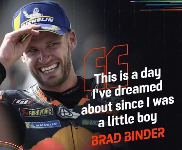 Brad Binder Brno 2020 Dream Come True