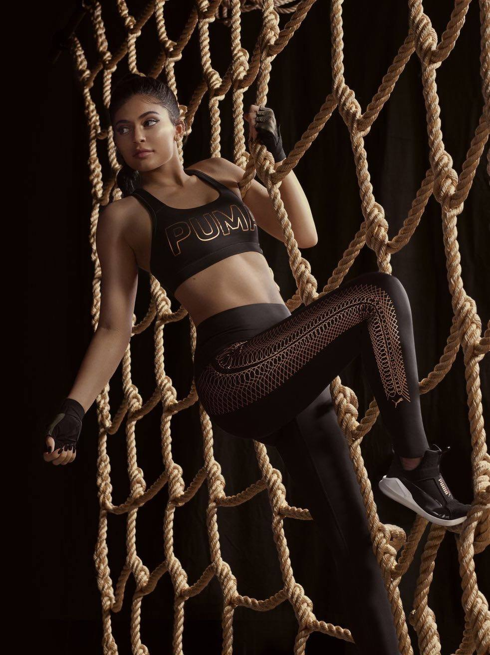 Puma - 'Velvet Rope' Collection ambassador Kylie Jenner