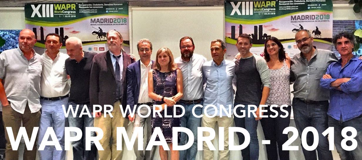 WAPR WORLD CONGRESS MADRID - 2018 (ENGLISH)