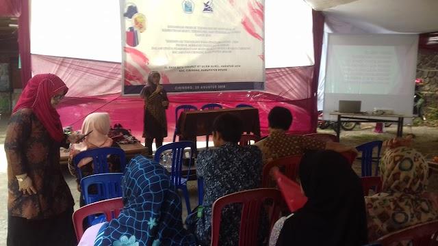 P3M PNJ Berikan Pelatihan Pengembangan UKM Kelurahan Cibinong