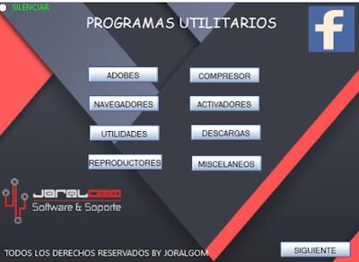 TEU 2018 Instalador de Programas para Después de formatear !!!!!