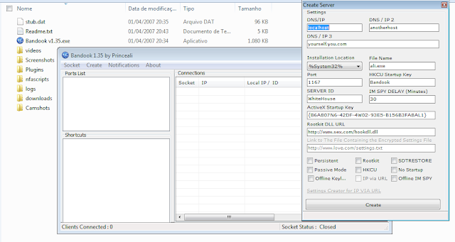 bn135 = Bandook v1.35 ,trojan original