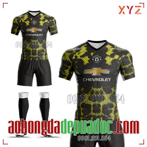Áo Man U 2019 Training 4 Màu Đen Vàng Đẹp Và Độc