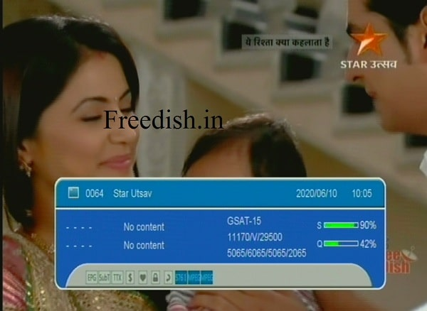 Star Utsav on DD Free Dish, Star Utsav Channel Number, Star Utsav Frequency