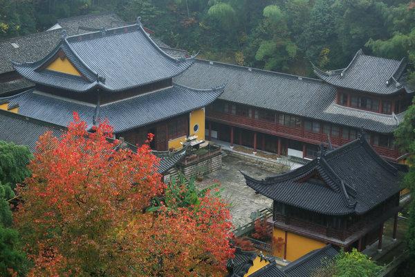 วัดกว๋อชิง (Guoqing Temple: 国清寺) @ www.chinadaily.com.cn