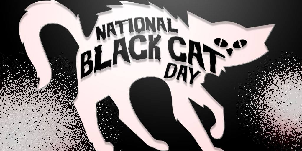 National Black Cat Day Wishes Sweet Images