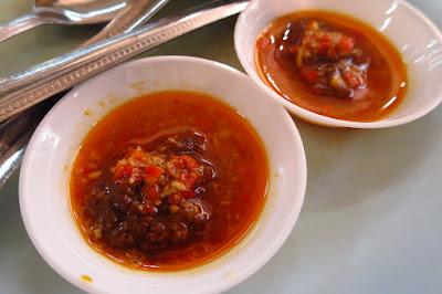 Lek Kee Authentic Teochew Braised Duck (陸記正宗潮洲鹵鸭), chilli