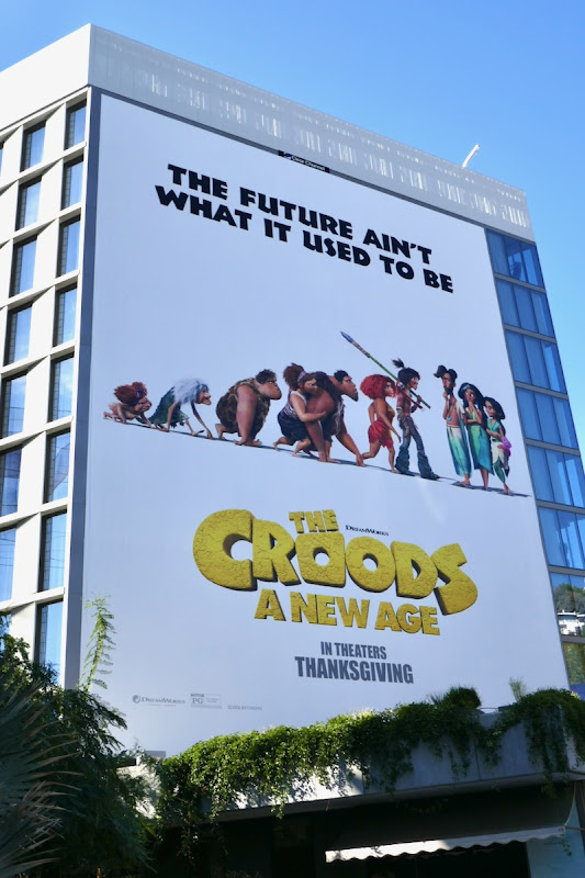 Croods A New Age giant billboard