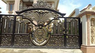 model-pagar-klasik-rumah-mewah