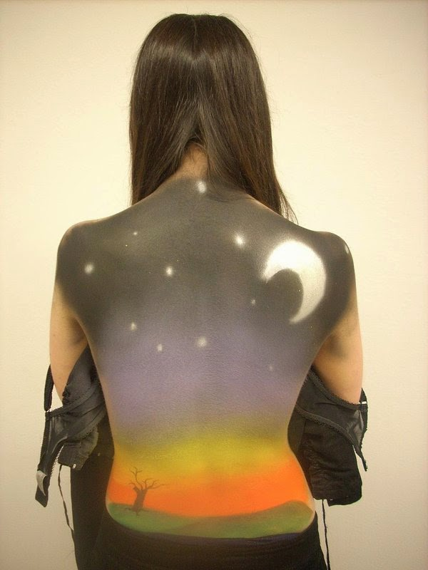 female body painting photos, full body painting-7