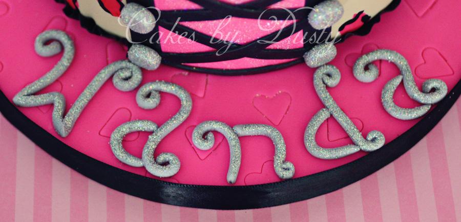 Cakes By Dusty Wanda S Burlesque Cake