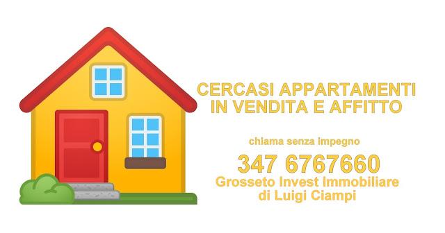 RICERCHIAMO Appartamenti e case in vendita a Grosseto, zona Parco Giotto -- Grosseto Invest::di Luigi Ciampi::agenzia  immobiliare a Grosseto::Case in vendita e affitto