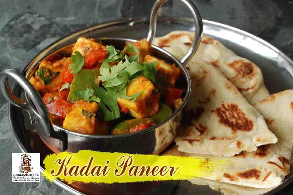 viaindiankitchen - Kadai Paneer