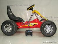 3 Mobil Mainan Aki Junior TR6628 GoKart dengan Kendali Jauh 3