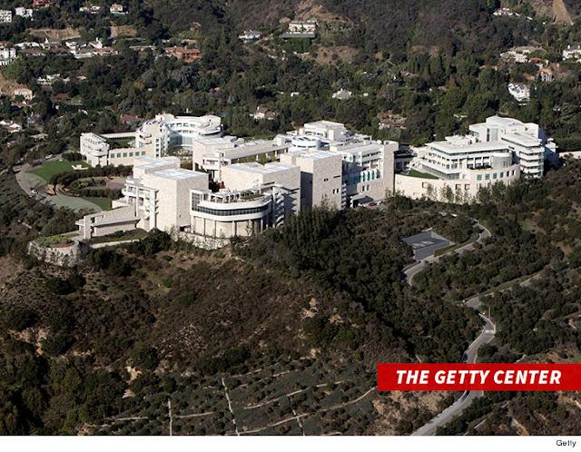TMZ: L.A. WildfiresGetty Center  Burning Steps Away from ... Billions in Art in Danger