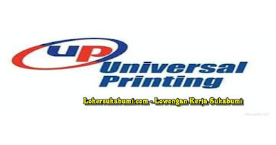 Lowongan Kerja Universal Printing Sukabumi Terbaru