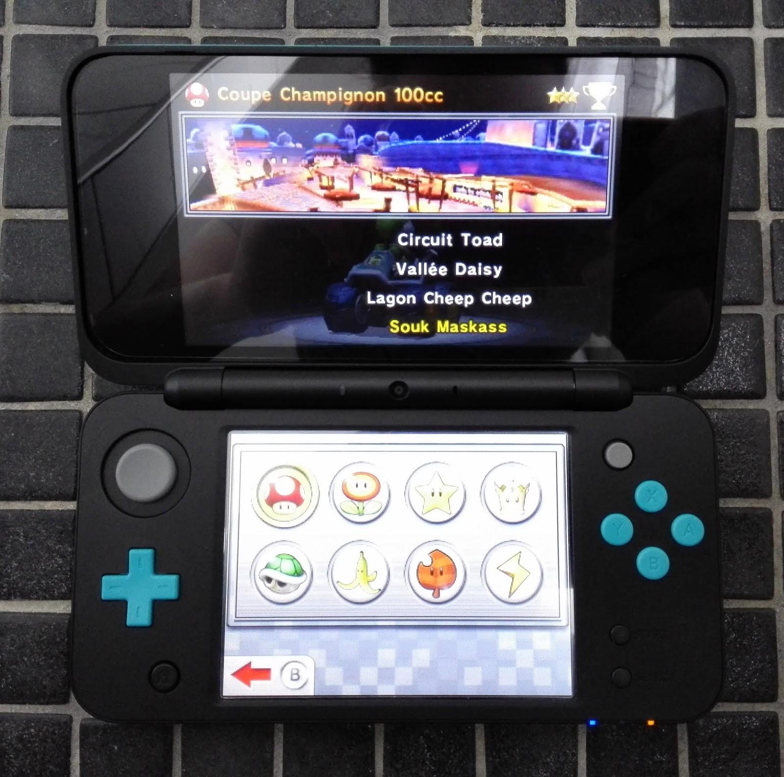 Karma Shachou Le Blog Geek Jeux Video Mario Kart 7 3ds