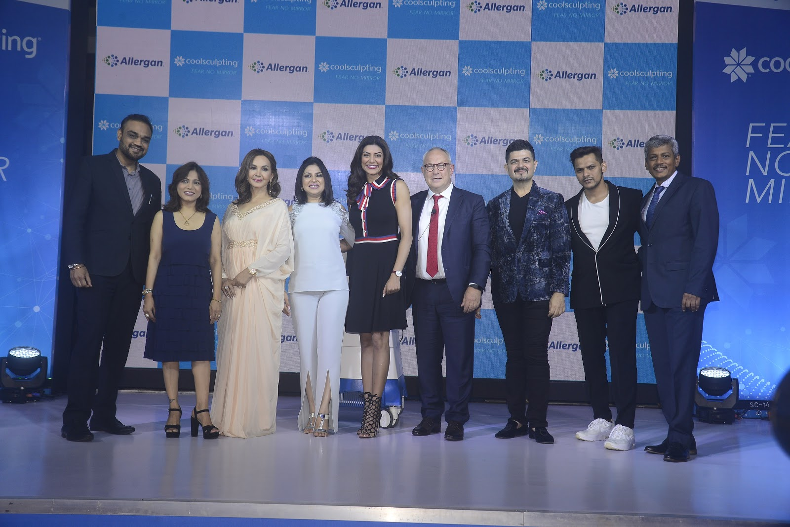 Allergan India Unveiling of CoolSculpting® in India