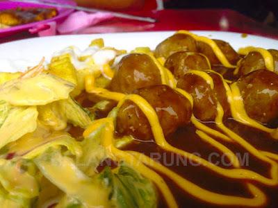 Hidangan Meatballs Acham RM 5